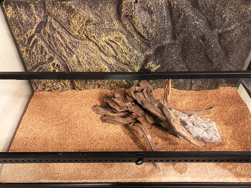 床材を入れた後の全体像